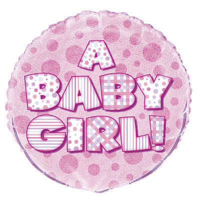 Foil Balloon - 'A Baby Girl!'