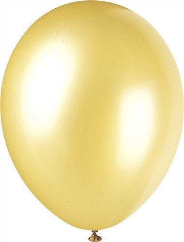 Champagne Gold Pearlised Balloons