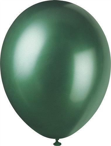 Evergreen Pearlised Balloons