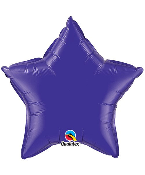 Foil Balloon - Purple Star
