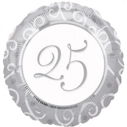 25th Anniversary - Foil Balloon
