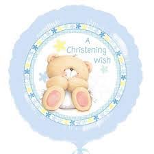 A Christening Wish - Foil Balloon