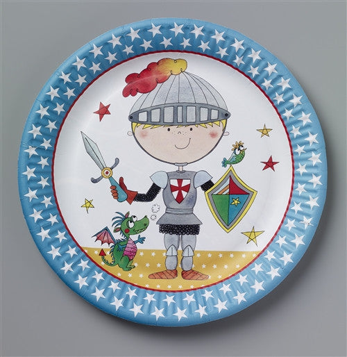 8 Knight Paper Plates
