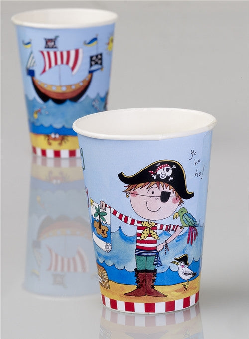 8 Pirate Cups