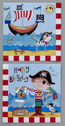 20 Pirate Lunch Napkins