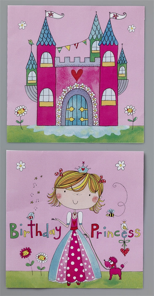 20 Princess Lunch Napkins are a bright and pink way to celebrate