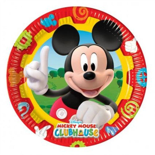 10 Mickey Mouse Plates are a bright and cheerful way to celebrate