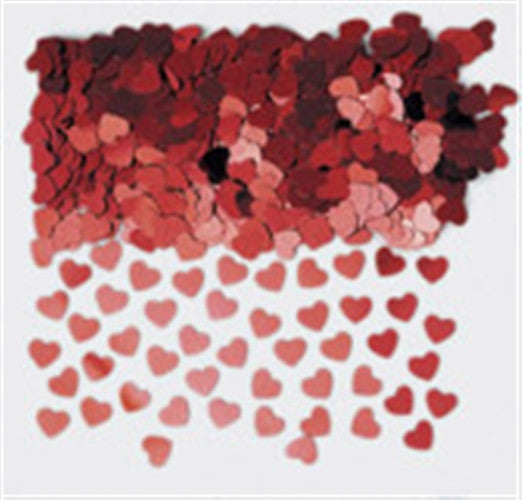 Red Heart Table Confetti