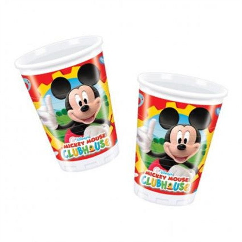 10 Mickey Mouse Cups