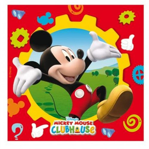 20 Mickey Mouse Napkins