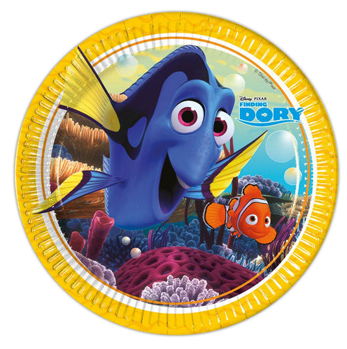 8 Finding Dory Paper Plates