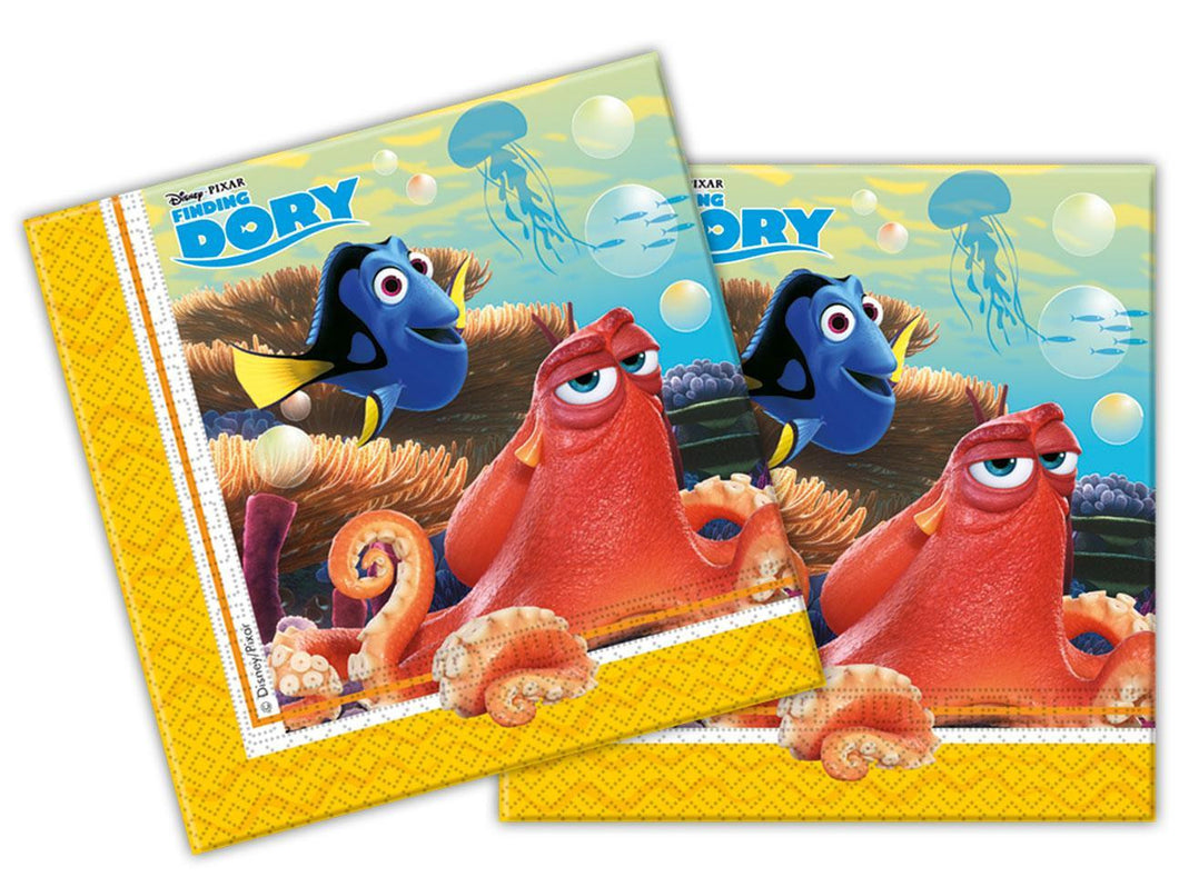 20 Finding Dory Napkins