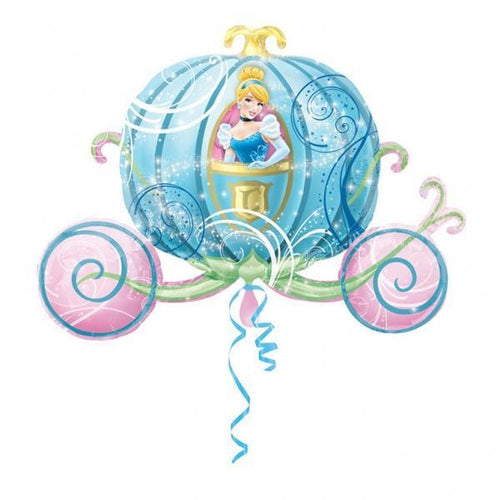 Disney Cinderella Carriage - Foil Balloon