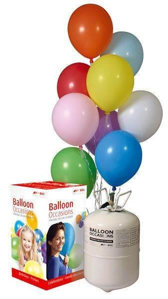 Disposable Helium Balloon Gas Cylinder