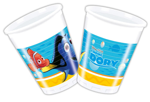 8 Finding Dory Paper Cups