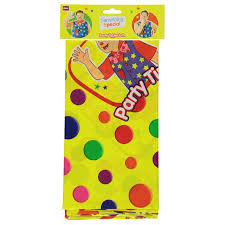 yellow tablecover featuring mr tumble
