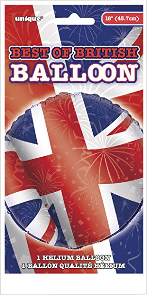 Best of British (Union Jack) - Foil Balloon
