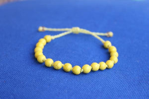 Yellow Fayrouz Knots Bracelet