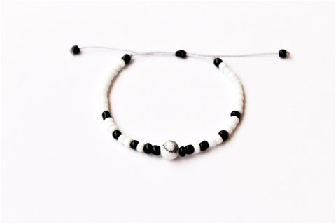 White Moon Seed Beads