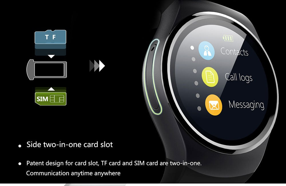 Premium Smartwatch For Android and iOS - Touch Screen