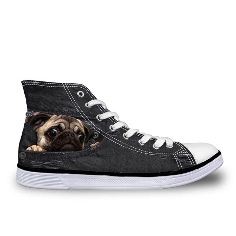 Pugview Women Sneakers