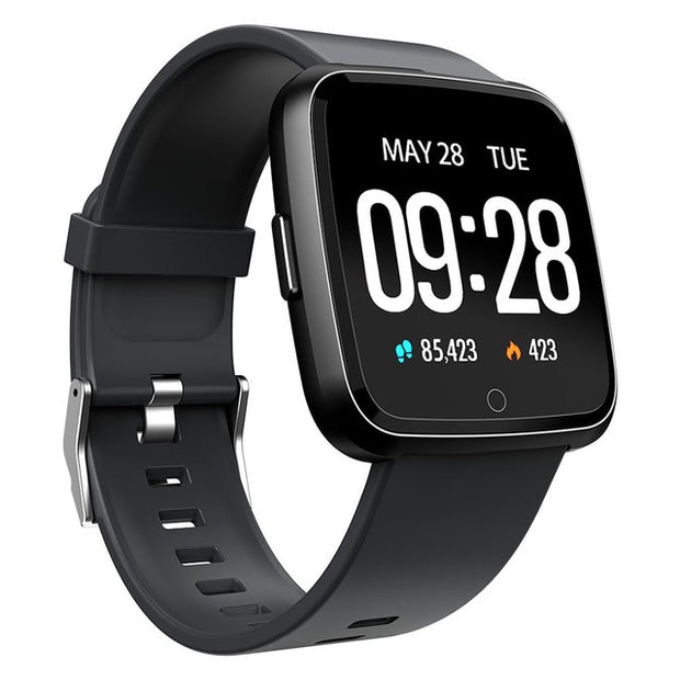 Waterproof Fitness Tracker Watch - Compatible with iOS and Android