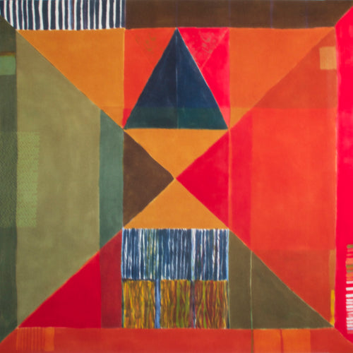Jane Keith 'Harlequin Hanging' - wool Wall hanging