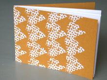 Limited edition hand printed notebook