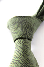 Small dashes (JKD90) sandwashed spun silk hand printed tie