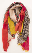 Hand Printed Cashmere scarf JKD 58c