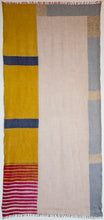 Superfine Cashmere Scarf - colour block (JKD 71c)