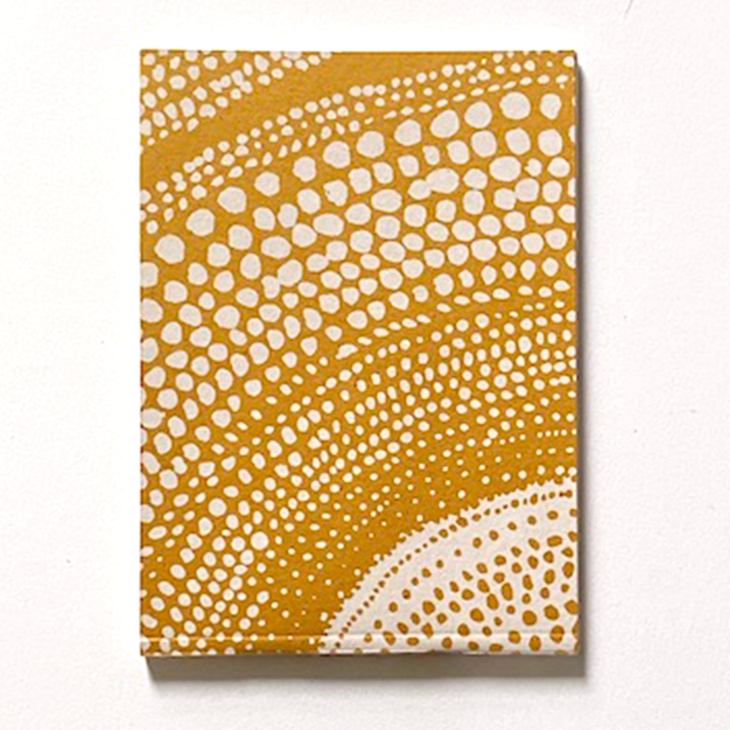 'Small Dots' Hand Printed A6 note book