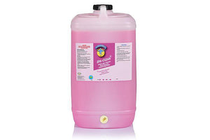 "Spa Clean - Concentrated SANITISER and Degreaser "" Tutti Frutti "" 15 Ltr drums"
