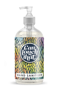 Hand Sanitiser 500 ml GORGEOUS DESIGNS to KEEP & REFILL Then just pick your Fragrance !!! Label - Autumn Leaves