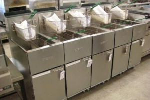 Stainless Steel Fryers (Commercial Kitchens)