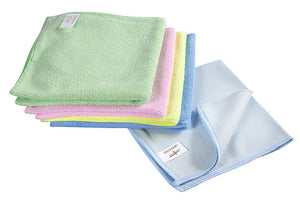Micro Fibre Cloth: Set of 4 (Colour-coded)