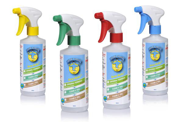 Spray Bottle Set - FOR Original & The Clean n' Kill Range