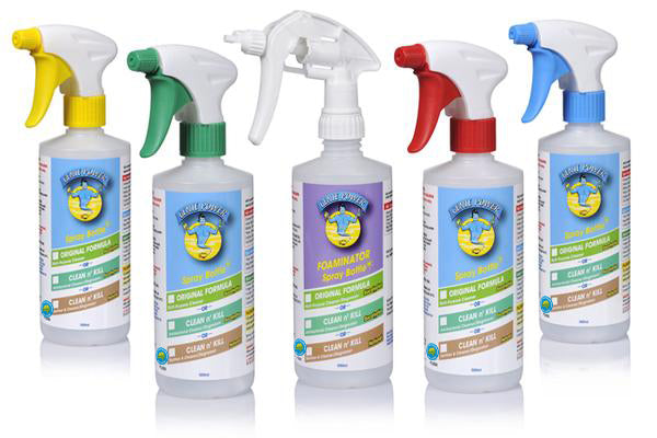 Spray Bottle Set + Foam - FOR Original & The Clean n' Kill Range