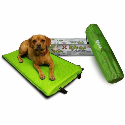 Buy Cheap, Discount, On Sale, Wholesale, Online-Hugs Pet Products 83002 Puff Pad Dog Self-Inflating Pet Bed 813165013675- Pet Supply Store