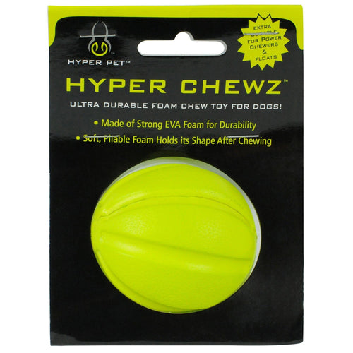 Buy Cheap, Discount, On Sale, Wholesale, Online-Hyper Pet 48845EA Chewz Ball Dog Toy 012575198617- Pet Supply Store