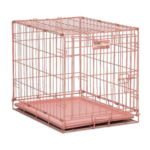 Buy Cheap, Discount, On Sale, Wholesale, Online-Midwest 1524PK iCrate Single Door Dog Crate 027773016168- Pet Supply Store