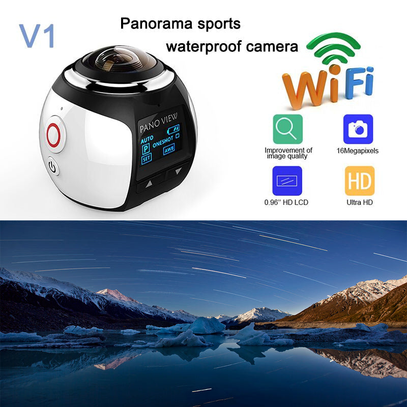 Sconto -200euro! Ultimate HD 360 Camera WIFI 16MP 3D Waterproof