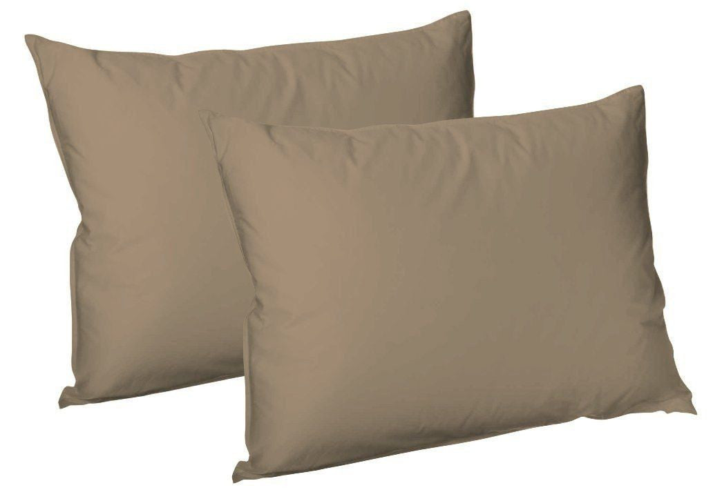 Luxury 2 X Pillow Case Plain Dyed Fine Polycotton Housewife Pillow Cover Cases