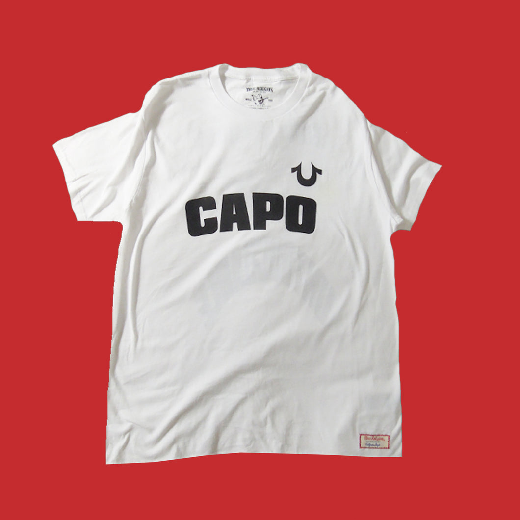 CAPO / TRUE RELIGION TSHIRT - WHITE