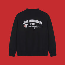 JIM LONGDEN / CHAMPION SWEATSHIRT - BLACK