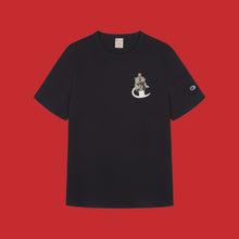 JIM LONGDEN / CHAMPION TSHIRT - BLACK