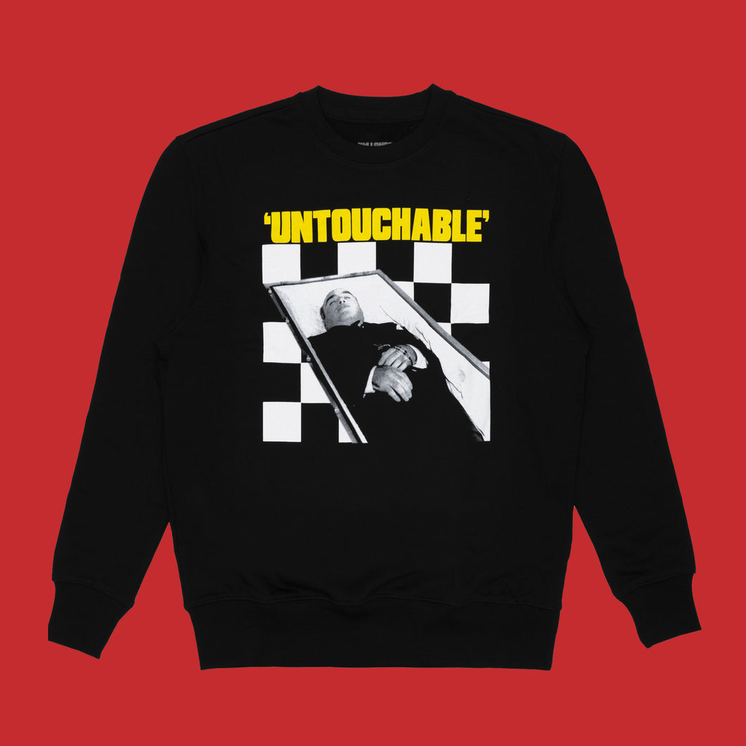 'UNTOUCHABLE' SWEATSHIRT - BLACK