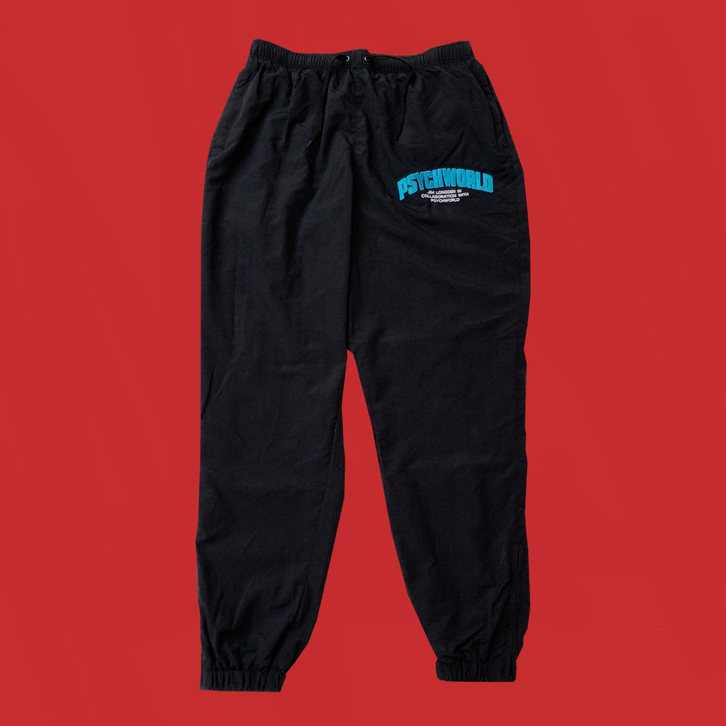 CAPO/PSYCHWORLD TRACKBOTTOMS - BLACK