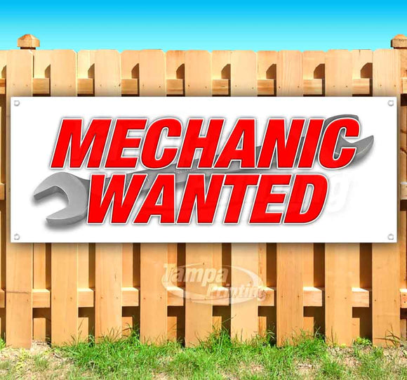 Mechanic Wanted Banner
