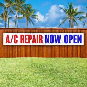 AC Repair Now Open XL Banner